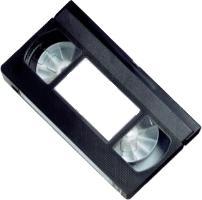 une cassette au format VHS